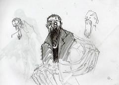 sketch autorretrato (Jugo de Naranjo) Tags: portrait self sketch drawing autorretrato dibujo boceto
