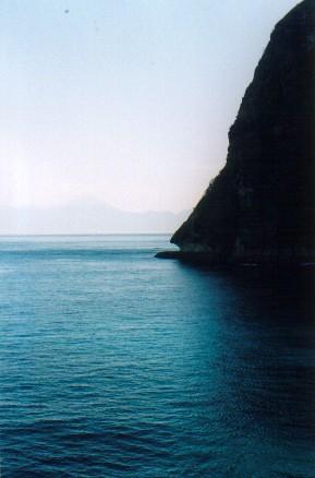 Mount Rinjani seen from Lawar