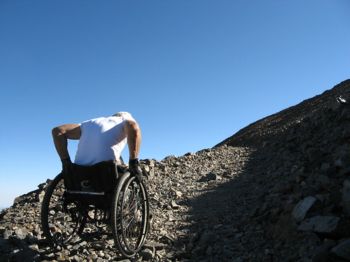 Rugged climb