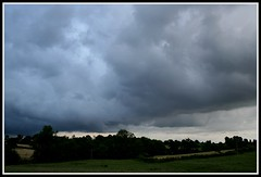 Storm Brewing (Donna JW) Tags: england clouds gloucestershire stormclouds englishweather englishlandscapes