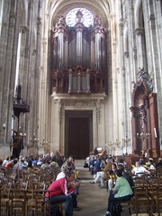 The St Eustache organ