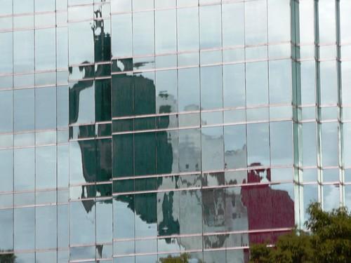 Mexico - Bandera reflejada