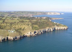 Durlston Country Park Aerial Shot