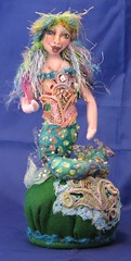 Patti LaValley mermaid pincushion