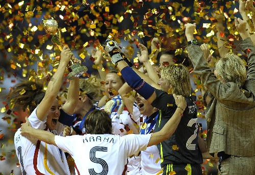 10-01-07 Picture of Day from snapchina.net: FIFA Women's World Cup Champion - Germany by snapchina