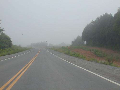 An Empty Roadway