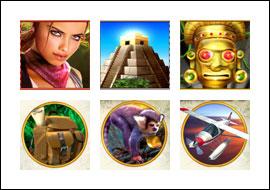 free Azteca Slots slot game symbols