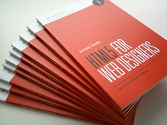 HTML5 For Web Designers in the wild (Jason Santa Maria) Tags: book aba publishing jeremykeith adactio book:author=jeremykeith html5 abookapart html5forwebdesigners adactio:post=1675 book:title=html5forwebdesigners adactio:post=1678