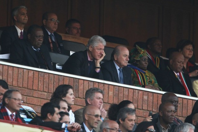 Bill Clinton Mundial Sudáfrica USA