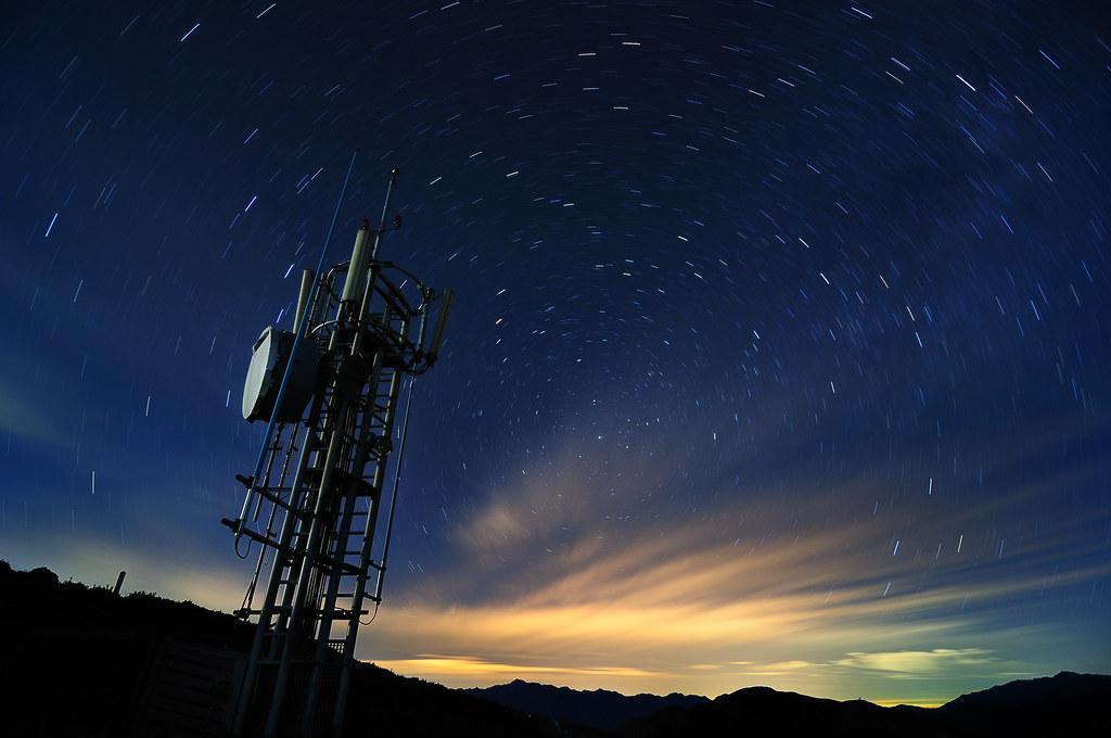 合歡山 主峰 雷達 物換星移