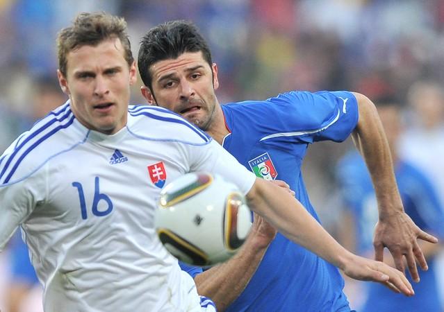 Italia descalificada Eslovaquia