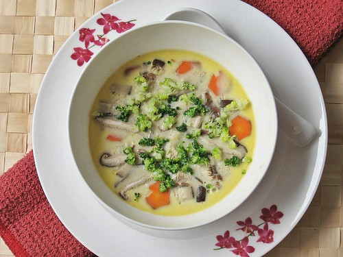 Steamed Egg - Home-style, Chinese-style ~ Teczcape-An Escape to Food