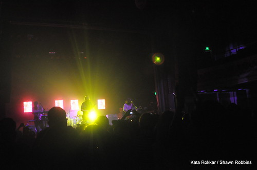 click the photo for more pictures of Minus the Bear / Tim Kasher