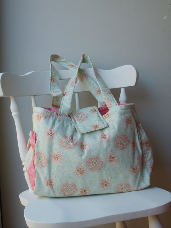 KYEbags - Pamper Me Pretty Baby Bag and Changing Pad