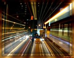 NYC NIGHT SCENE (bobbistarr) Tags: flickr gallery heart award platinum wow1 wow2 wow3 wow4 tripleniceshot