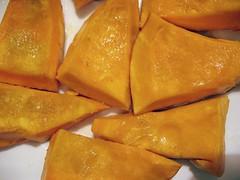 Dynia Hokkaido przygotowana do pieczenia