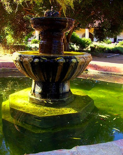 La Purisima Fountain in the Afternoon