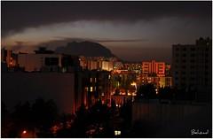 Shiraz View (Behzad No) Tags: life city red sky tree green lamp night clouds dark persian alone sad iran dream shiraz iranian pars fars anawesomeshot nikond90 iranmap iranmapcom