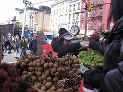 FruitNVeggieStand (Street Witness) Tags: street nyc fruit stand chinatown samsung vegetable nv7
