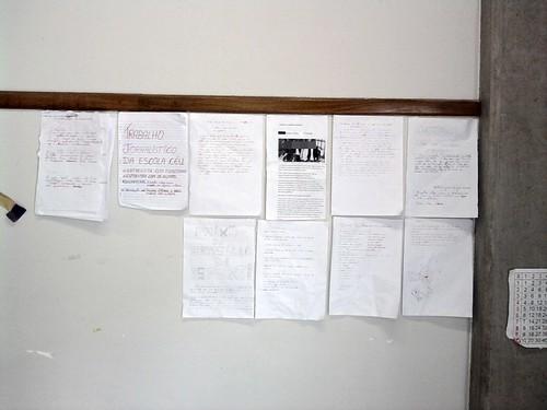Mural da Classe (10/11/2010) - Visao Ampla