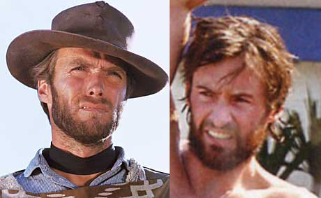 Hugh Jackman = A young Clint Eastwood