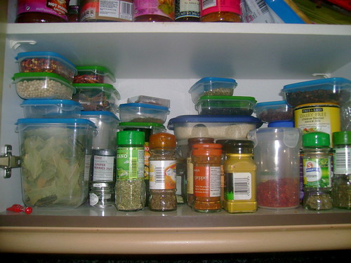 The Main Spice Shelf