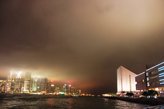 (untitledself) Tags: hongkong tsimshatsui avenueofstars symphonyoflights hkculturalcentre 20070521