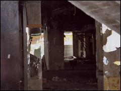 demolition / transition (swswann) Tags: brussels demolition transition lightanddark transience galerieanspach
