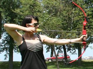Nina - archery