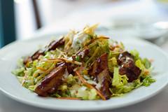 BBQ Chicken Salad (dotsara) Tags: restaurant salad availablelight nikkor50mmf14d 50mmf14d bbqchickensalad