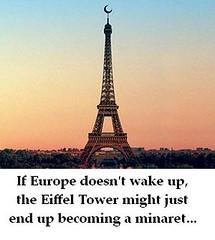 Eiffeltoren als minaret?