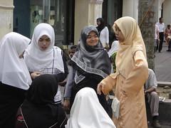 chicas en la calle