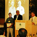 Birger Moeller and Kent McCue receiving Eric Conn's Phytochemistry Pioneer Award in his absence