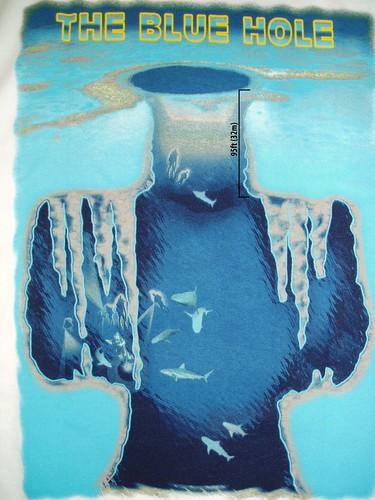 en el abismo azul: