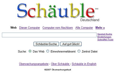 Schäuble Deutschland