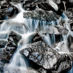 time (sausyn) Tags: fall water flow long exposure branch time acqua ramo tempo pantarei lunga esposizione cascata supershot scorre