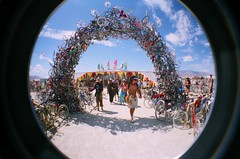 bike arch (jesse.cheese) Tags: art playa burningman goodtimes ohmygawd thatwasgood bm07