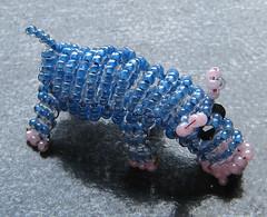 Hipoptamo. (naiarais) Tags: animal handmade artesania manualidades hipopotamo abalorios hechoamano bolitas animalessalvajes hechopornaiara animalesdebolitas