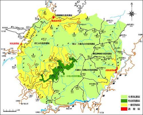 [map]雪山下大小劍山