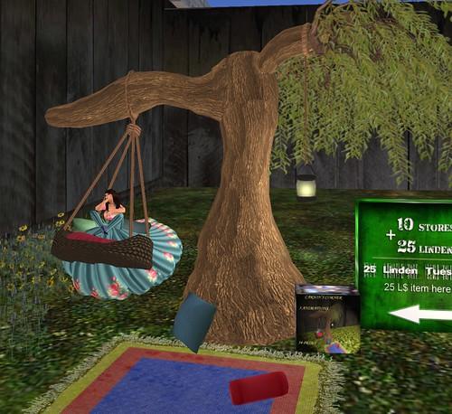 25L Carson's Corner tree and swing