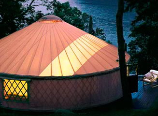 yurt-outside