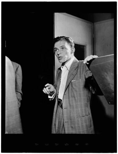 [Portrait of Frank Sinatra, Liederkrantz Hall, New York, N.Y., ca. 1947] (LOC)