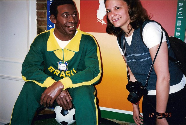 Pelé no Madame Tussauds London