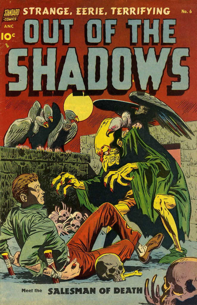 Out Of The Shadows #6 Alex Toth Cover Art (Standard, 1952)