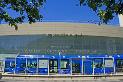 Piscine Olympique (Christian Sals) Tags: transport montpellier tramway piscine languedocroussillon hrault piscineolympique moyendetransport