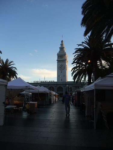 SFO Day 2: Ferry Market Building