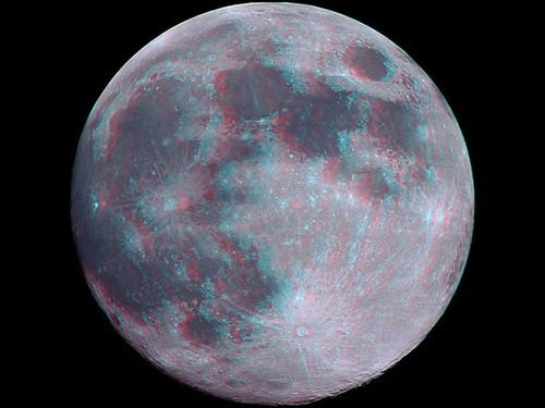 luna llena en 3d