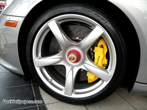 Porsche CGT wheel picture that Bruce took