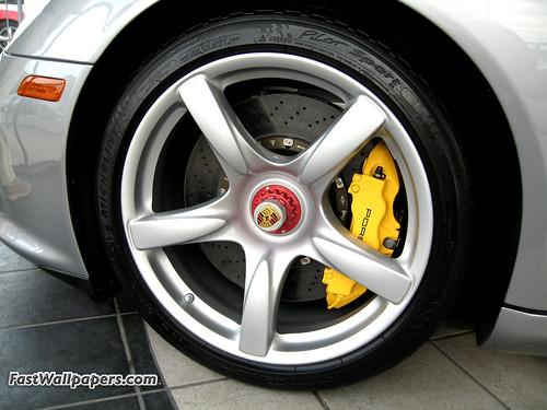 Porsche CGT wheel picture that Bruce took