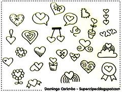 Domingo-carimbo: coração